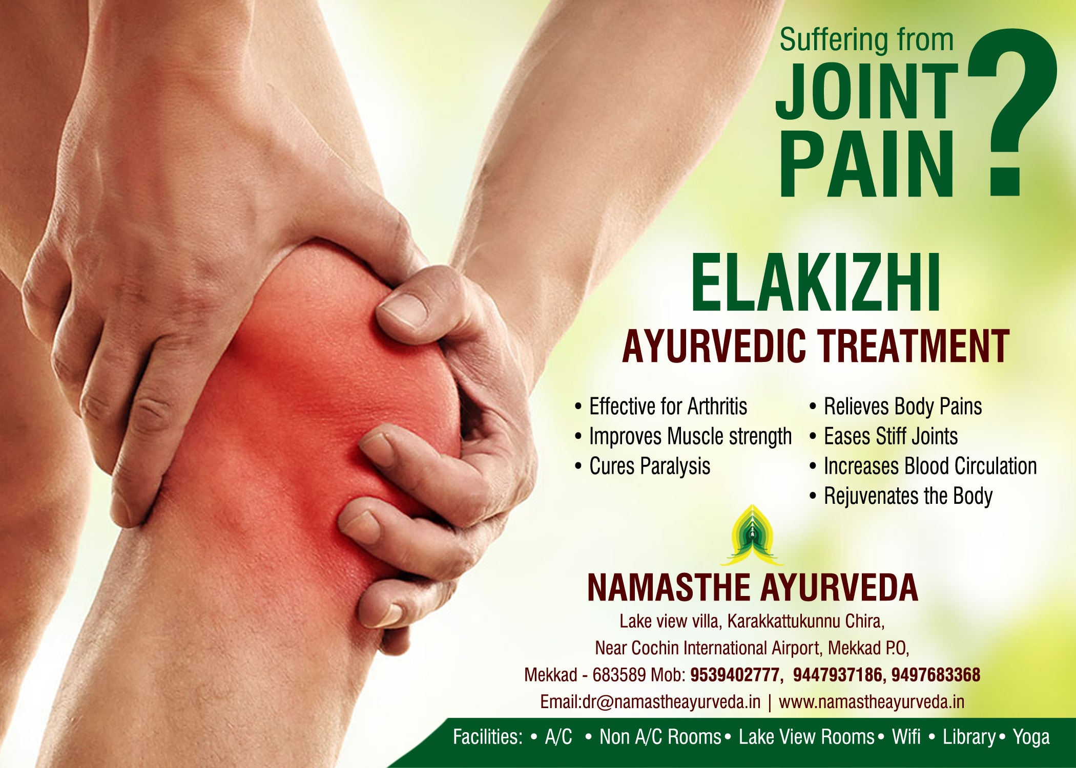 NAmasthe Joint pain treatment