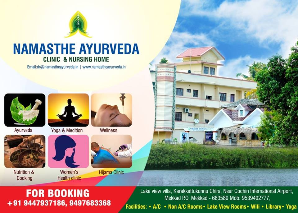 Namasthe Ayurveda Booking